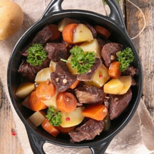 Bison Stew Meat Cubes 1 lb
