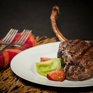 Bison Tomahawk Ribeye Steak 30-36 oz