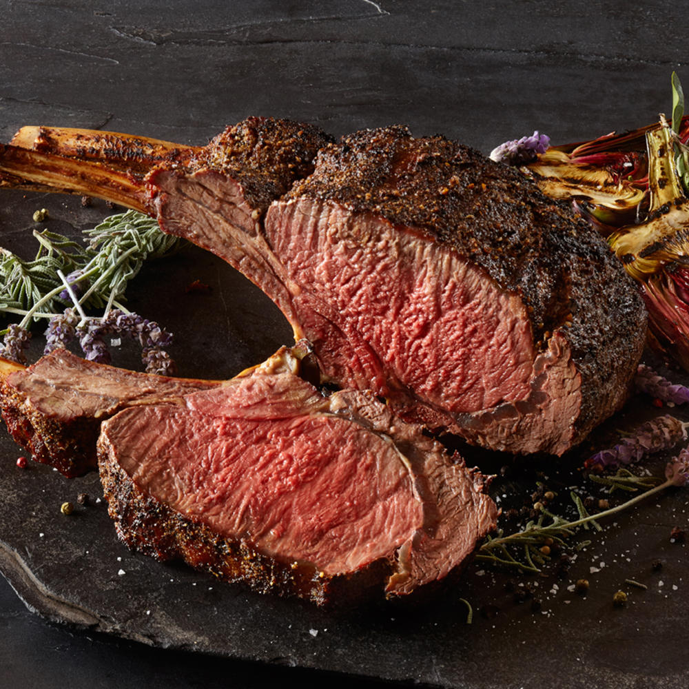 Bison Tomahawk Steaks - They Deserve Their Own Blog Post - Beck and Bulow