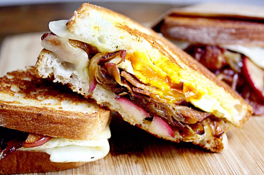 Maple Boar Bacon, Egg and Cheese Sandwich Recipe - Beck and Bulow