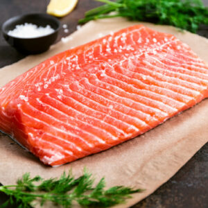Wild Caught Sockeye Salmon Filet 1.2 lb
