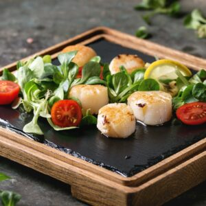 Wild Caught Sea Scallops 2 lbs