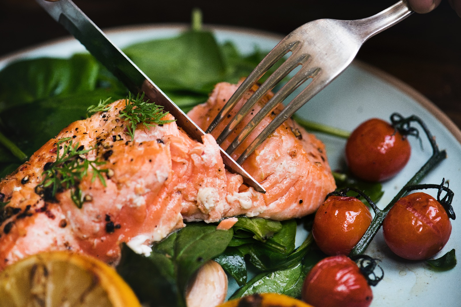 Quick & Easy Fresh Baked Salmon With Cilantro & Lime - Beck & Bulow