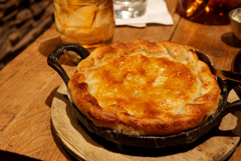 Traditional Moravian Chicken Pot Pie, Straight From North Carolina - Beck & Bulow