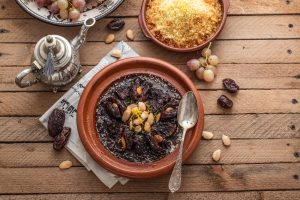 Moroccan Spiced Beef Tagine With Dates, Honey & Prunes - Beck & Bulow