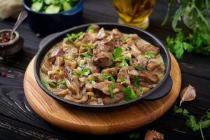 Creamy & Delicious Authentic Russian Beef Stroganoff Recipe - Beck & Bulow