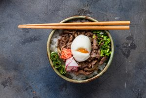 Japanese Inspired Comfort Food: Gyudon Rice Bowl With Bison - Beck & Bulow