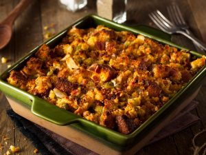 Cornbread Stuffing With Bison Hickory Smoked Sausage - Beck & Bulow