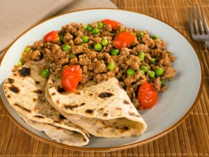 Authentic Keema Matar Curry With Bison Primal Blend - Beck & Bulow