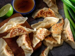 Homemade Pot Stickers With Chinese Five Spice Ground Elk - Beck & Bulow