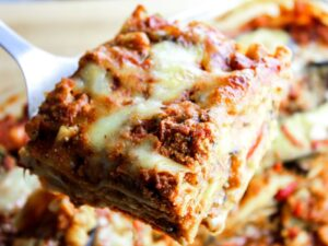 Super Quick & Easy Lasagna With Bison And Wild Boar - Beck & Bulow