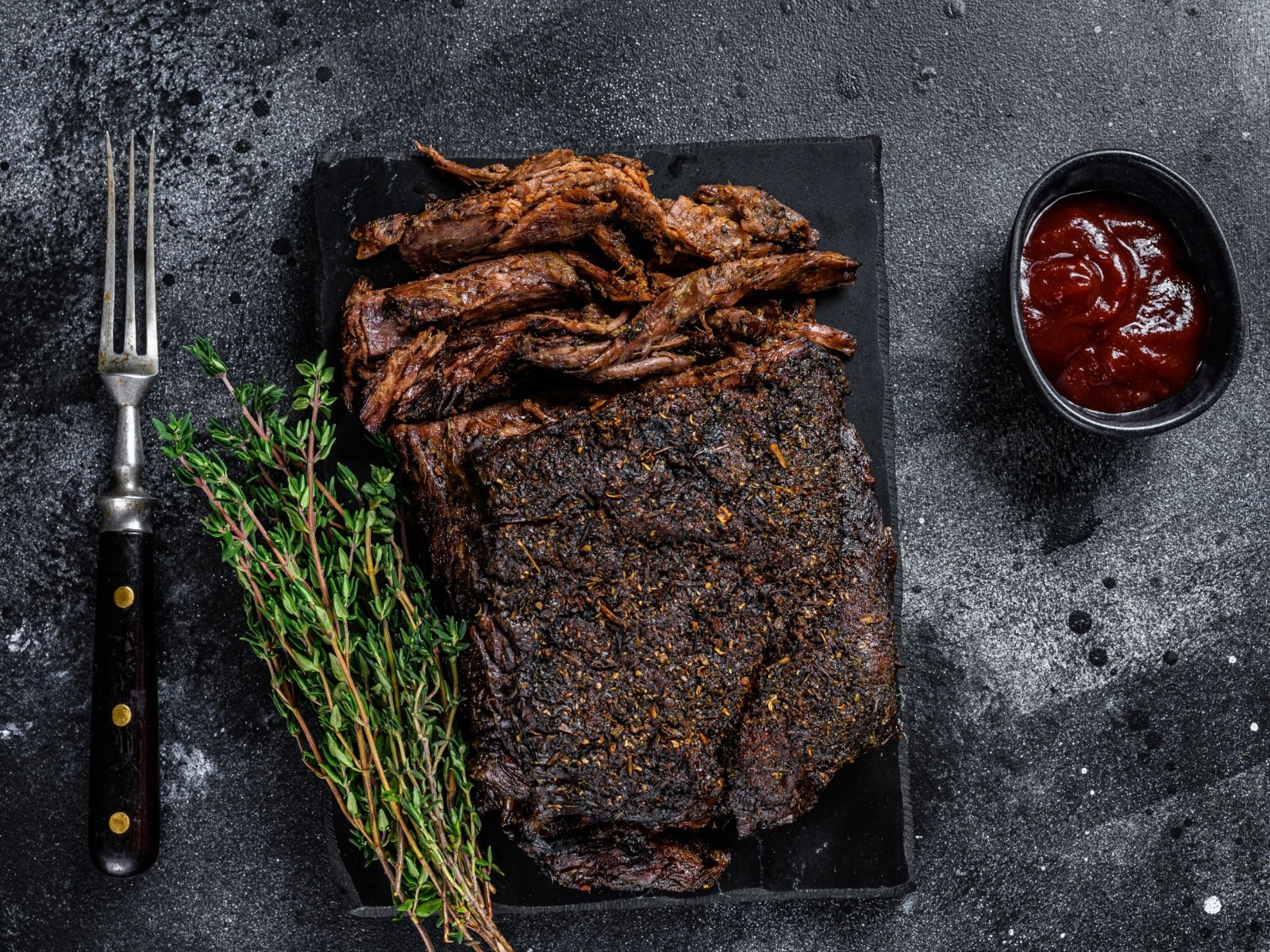 Instant Pot BBQ Brisket With Bison Or American Wagyu Beef - Beck & Bulow