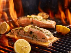 How To Cook Delicious & Easy Cedar Plank Salmon Fillets - Beck & Bulow