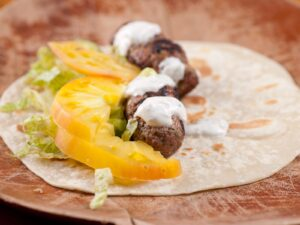 Recipe Middle Eastern Spiced Lamb Koftas With Pine Nuts - Beck & Bulow